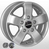 Автомобильный колесный диск R15 5*130 JH-00221 S (Mercedes) - W7.0 Et60 D84.1