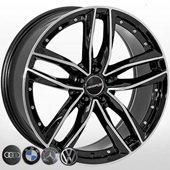 Автомобильный колесный диск R20 5*112 A-00845B BP - W8.5 Et20 D66.6