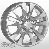 Автомобильный колесный диск R17 5*150 TY-1107 S (Toyota) - W8.0 Et60 D110.1