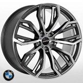 Автомобильный колесный диск R22 5*120 B-1166 DGMF (BMW) - W10.0 Et40 D74.1