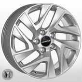 Автомобильный колесный диск R17 5*114,3 H-1284 S (Honda) - W7.0 Et45 D64.1
