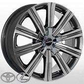 Автомобильный колесный диск R21 5*150 LX-1333 DGMF (Lexus, Toyota) - W8.5 Et54 D110.1