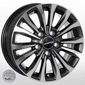 Автомобильный колесный диск R15 5*114,3 JH-1365 DGMF - W6.0 Et39 D60.1