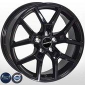 Автомобильный колесный диск R17 5*108 FD-15017 Black (Ford, Volvo) - W7.0 Et42 D63.4