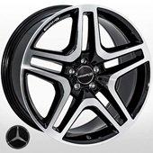 Автомобильный колесный диск R21 5*112 MB-30033 BP (Mercedes) - W10.0 Et46 D66.6