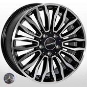 Автомобильный колесный диск R17 5*112 MB-30255 BP (Mercedes) - W7.5 Et48 D66.6