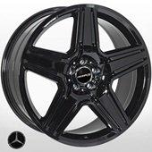 Автомобильный колесный диск R21 5*112 MB-5515 BLACK (Mercedes) - W10.0 Et46 D66.6