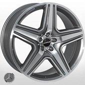 Автомобильный колесный диск R21 5*112 MB-5515 DGMF (Mercedes) - W10.0 Et46 D66.6