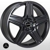 Автомобильный колесный диск R21 5*112 MB-5515 MattBLACK (Mercedes) - W10.0 Et46 D66.6