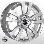 Автомобильный колесный диск R16 5*114,3 NS-5565 S (Nissan, Renault) - W6.5 Et42 D66.1