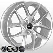 Автомобильный колесный диск R17 5*112 VW-5574 S (VW, Skoda, Seat) - W7.5 Et45 D57.1