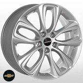Автомобильный колесный диск R17 5*105 GM-5599 S (Chevrolet, Opel) - W7.5 Et44 D56.6