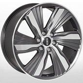 Автомобильный колесный диск R22 6*135 LN-6321 GMF (Lincoln) - W9.5 Et44 D87.1