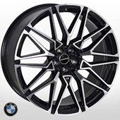 Автомобильный колесный диск R22 5*120 B-1393 BP (BMW) - W9.5 Et32 D74.1