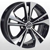 Автомобильный колесный диск R16 5*114,3 NS-566 BMF (Nissan) - W6.5 Et40 D66.1