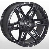 Автомобильный колесный диск R18 6*139,7 JH-Dark12 MattBLACK - W9.0 Et12 D106.1