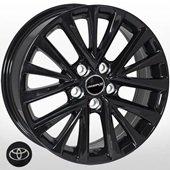Автомобильный колесный диск R17 5*114,3 TY-524 BLACK (Toyota) - W7.0 Et45 D60.1
