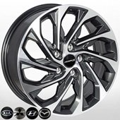 Автомобильный колесный диск R17 5*114,3 HY-682 GMF - W7.0 Et53 D67.1