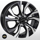 Автомобильный колесный диск R15 5*105 GN-766 BMF (Chevrolet) - W6.0 Et38 D56.6