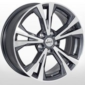 Автомобильный колесный диск R17 5*114,3 NS-0181 DGMF (Nissan) - W7.0 Et45 D66.1