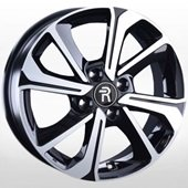 Автомобильный колесный диск R15 4*100 KI242 BKF (Kia, Hyundai) - W6.0 Et46 D54.1