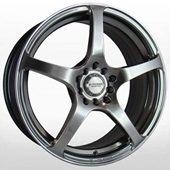 Автомобильный колесный диск R17 4*100 / 4*114,3 KR210 HPB - W7 Et45 D73.1