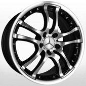 Автомобильный колесный диск R17 5*112 KR597 BKF - W7.5 Et35 D66.6
