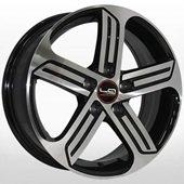 Автомобильный колесный диск R16 5*112 SK520 BKF (Skoda, VW) - W6.5 Et50 D57.1