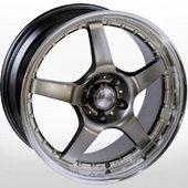 Автомобильный колесный диск R18 5*100 LG 133 XMIHB - W8 Et40 D73.1