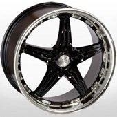 Автомобильный колесный диск R18 5*120 LG 173 XMIBK - W9.5 Et25 D74.1