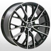 Автомобильный колесный диск R19 5*114,3 LX-3314 BP (Toyota, Lexus) - W8.0 Et35 D60.1