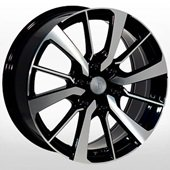 Автомобильный колесный диск R18 6*139,7 MI138 BKF (Mitsubishi) - W7.5 Et38 D67.1