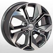 Автомобильный колесный диск R17 5*114,3 NS-4003 GP (Nissan, Renault) - W7.0 Et40 D66.1