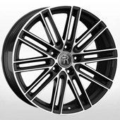 Автомобильный колесный диск R20 5*130 PR21 BKF (Porsche) - W9.5 Et65 D71.6