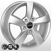 Автомобильный колесный диск R15 5*112 SK-5006 S (Skoda, VW) - W6.0 Et47 D57.1