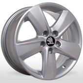 Автомобильный колесный диск R15 5*100 SK-5012 S (Skoda, VW) - W6.0 Et38 D57.1
