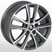 Автомобильный колесный диск R16 5*112 SK-5019 GP (Audi, Skoda, VW) - W6.5 Et42 D57.1