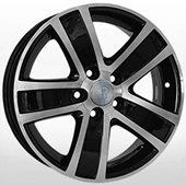 Автомобильный колесный диск R15 5*100 SK17 BKF (Skoda, VW) - W6.0 Et38 D57.1