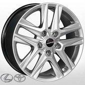Автомобильный колесный диск R20 5*150 TY-5502 HS (Toyota, Lexus) - W8.5 Et45 D110.2