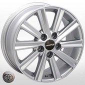 Автомобильный колесный диск R16 5*114,3 TY-5524 S (Toyota) - W6.5 Et40 D60.1