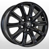 Автомобильный колесный диск R16 5*114,3 TY58 BK (Toyota, Lexus) - W6.5 Et45 D60.1