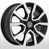 Автомобильный колесный диск R15 5*100 VW-5621 BP (VW, Skoda) - W6.0 Et40 D57.1