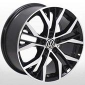 Автомобильный колесный диск R16 5*112 VW-5635 BP (VW, Skoda, Seat, Audi) - W7.0 Et45 D57.1