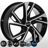 Автомобильный колесный диск R17 5*114,3 HY-183 BMF - W7.5 Et45 D67.1