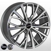 Автомобильный колесный диск R18 5*112 FE186 GMF (Audi, Mercedes) - W8.0 Et39 D66.6