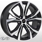 Автомобильный колесный диск R17 5*114,3 LX-193 BMF (Lexus, Toyota) - W7.0 Et35 D60.1