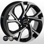 Автомобильный колесный диск R16 5*114,3 TY-197 BMF (Toyota, Suzuki) - W6.5 Et45 D60.1