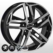 Автомобильный колесный диск R16 4*108 PG-876 BMF (Citroen, Peugeot) - W6.5 Et27 D65.1