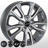 Автомобильный колесный диск R17 5*114,3 TL0603NW GMF - W6.5 Et49 D67.1