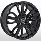 Автомобильный колесный диск R21 5*120 LR-1333 BLACK (Land Rover) - W9.5 Et45 D72.6